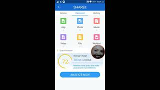 Shareit connect and transfer for Android!