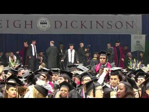Fairleigh Dickinson University 2015 Commencement part 2 of 2