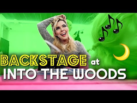 Backstage at INTO THE WOODS | Vlog Part 2