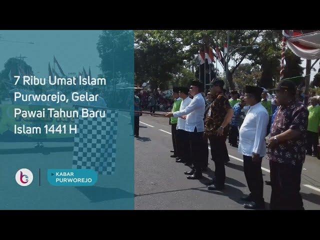 7 Ribu Umat Islam Purworejo, Gelar Pawai Tahun Baru Islam 1441 H
