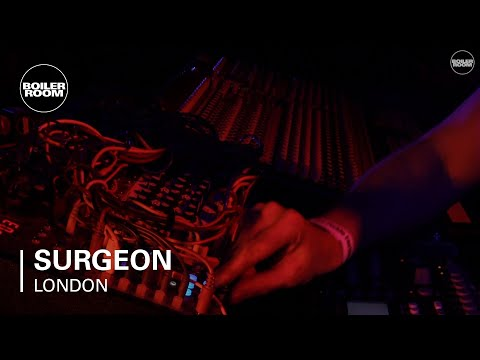 Surgeon Boiler Room London LIVE Set