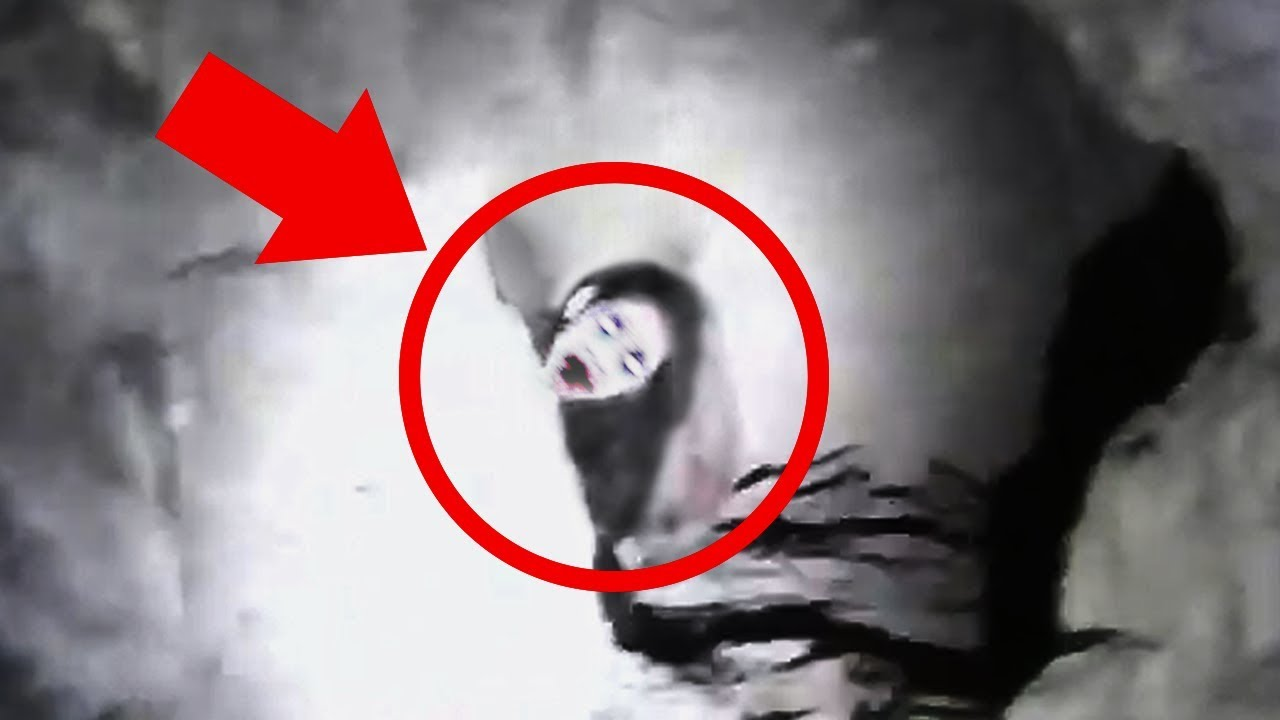 Real Ghosts Caught On Camera? Top 10 Scary Videos