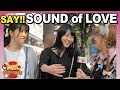 What LOVE sounds like in Japan: Japanese people give onomatopoeia advice