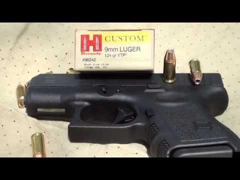 Glock 26 jhp penetration