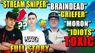 Why Are Clix, FaZe Bizzle, & Chap EXPLODING On Each other.. (FULL STORY)