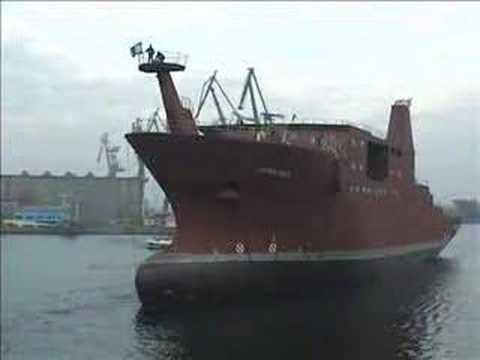 RRS James Cook Hull Launch