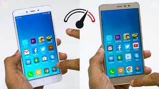 Redmi Note 4 vs Redmi Note 3 Speedtest Comparison
