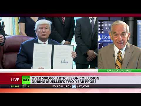Democrats caught red-handed lying about Trump 'collusion,' but march on – Ron Paul on Mueller report