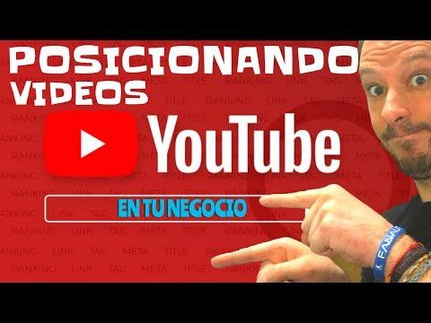 Usando YOUTUBE PARA POSICIONAR TUS VIDEOS y tu negocio