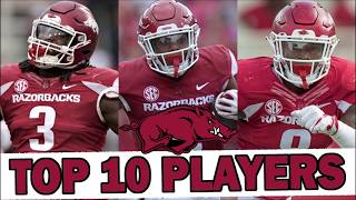 Ranking the Arkansas Razorbacks' Top 10 Players for 2019