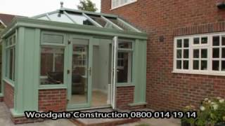 Woodgate Construction Lantern And Orangery Installation 2014.