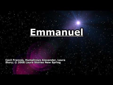 Emmanuel - Laura Story - Lyrics