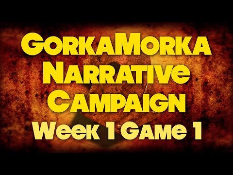 Squiggers of the Dune vs The Orks of Hazzard - Week 1 Game 1 - Gorkamorka Narrative Campaign