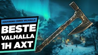 🪓DIE BESTE EINHAND AXT IN VALHALLA🪓 Assassins Creed Valhalla beste Waffe - AC Valhalla Guide