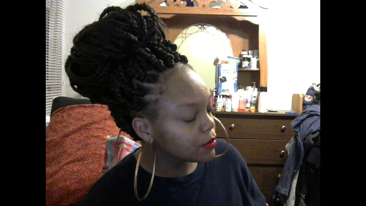 Sensationnel African collection:Jumbo box braids - YouTube