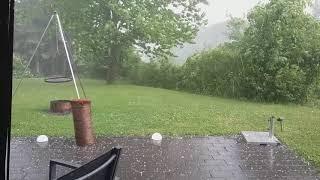 Unwetter im Saarland am 06.06.18