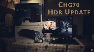 Samsung CHG70 / C32HG70 HDR Review Update - HDR PS4 vs PC / HDR Gaming vs SDR - Future of HDR Gaming
