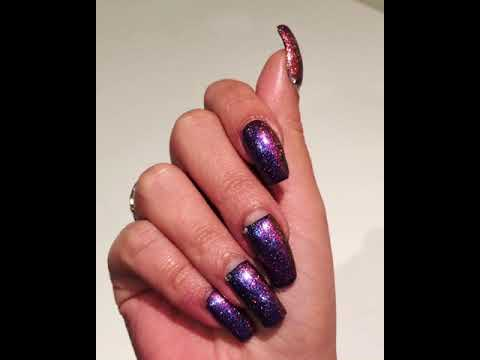 Another Beautiful Nail Art By Our Hand Model Johanail Art Video 5