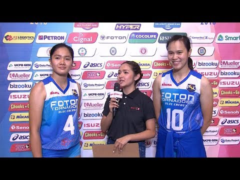 Match MVPs: Mika Aganon and Maika Ortiz | PSL All-Filipino Conference 2018