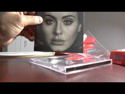 Unboxing 25 Adele New CD Album - #adele25...