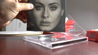 Baixar Unboxing 25 Adele New CD Album - #adele25 @Adele