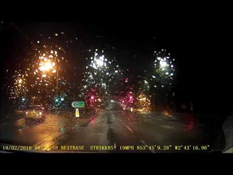 Fylde Coast UK Dashcam compilation Winter 2018