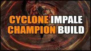 PATH of EXILE Legion: Impale Champion Build (Cyclone or Bladestorm) My League Starter