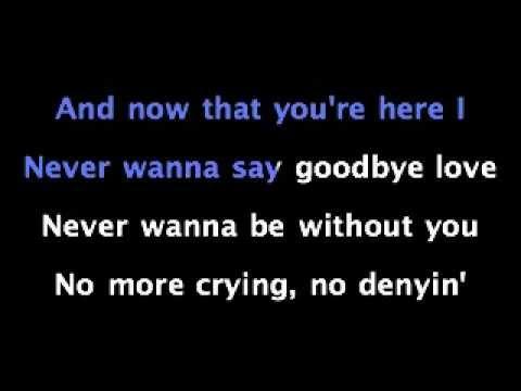Never Say Goodbye - Jojo - KARAOKE SING ALONG With Lyrics
