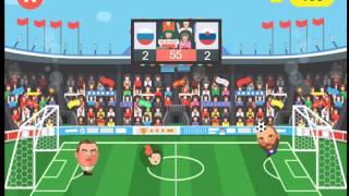 Спортивные головы. Чемпионат Европы по футболу 2016 // Sports Heads: Football Championship 2016