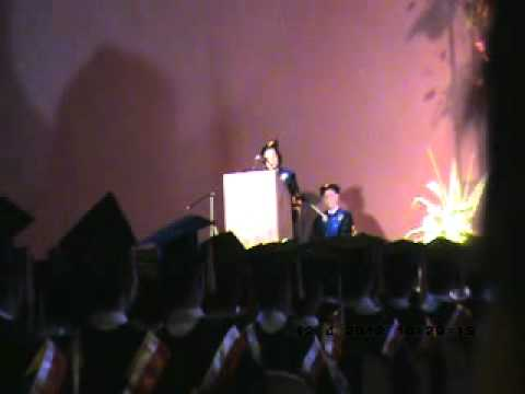 introduction of guest speaker for graduation