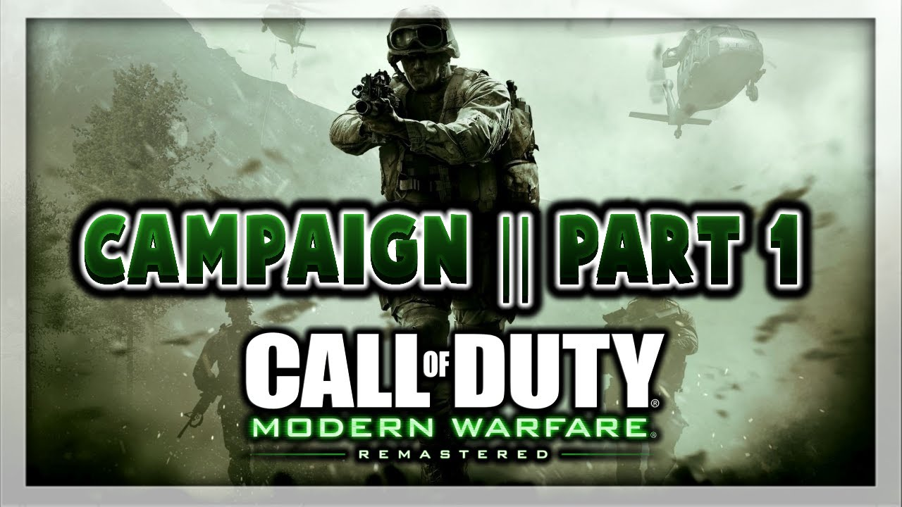 modern warfare remastered how to get parts
