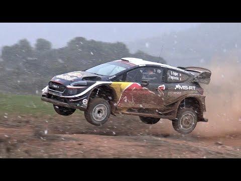 BRUTAL Seb Ogier   Ford Fiesta WRC   Test Rally México 2018 by Jaume Soler