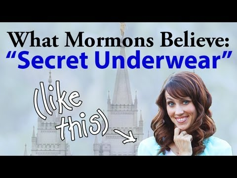 What Mormons Believe Secret Underwear Youtube