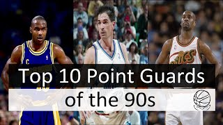10 Best NBA Point Guards of the 90s