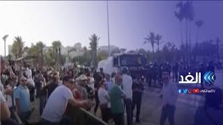الشرطة الإسرائيلية تخلي شوارع القدس بعد رشقة صاروخية من قطاع غزة