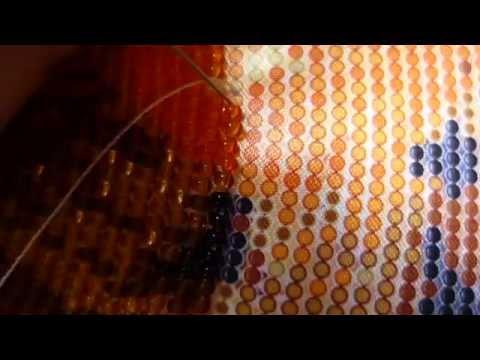 вышивка бисером в круговой