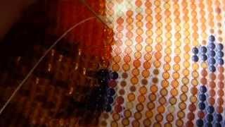 вышивка бисером в круговой технике(в этом видео я расскажу как вышивать бисером в круговой технике -