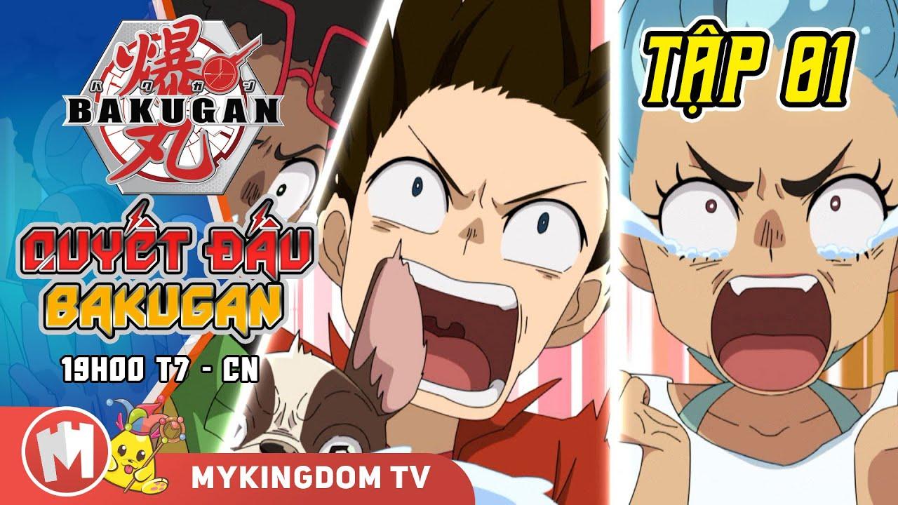 QUYẾT ĐẤU BAKUGAN | Tập 01: Nguồn Gốc Bakugan | Phim Hoạt Hình Nhật Bản