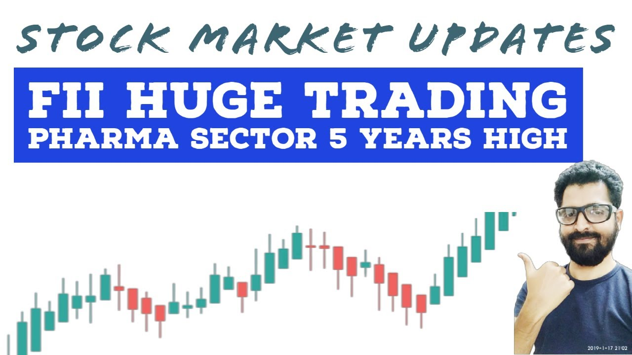 Pharma Sector - 5 years High | FII HUGE TRADING | Market Updates | Tamil Share | Intraday Trading