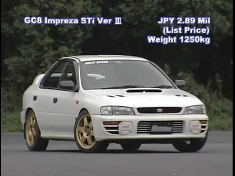Sti Type Ra >> BOZZ SPEED Impreza WRX STi Type-RA v3 at Tsukuba - YouTube