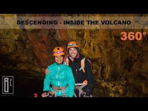 Descending – Inside The Volcano | 360°