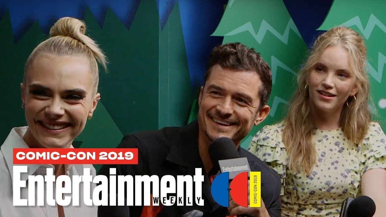 'Carnival Row' Stars Orlando Bloom, Cara Delevingne & More LIVE | SDCC 2019