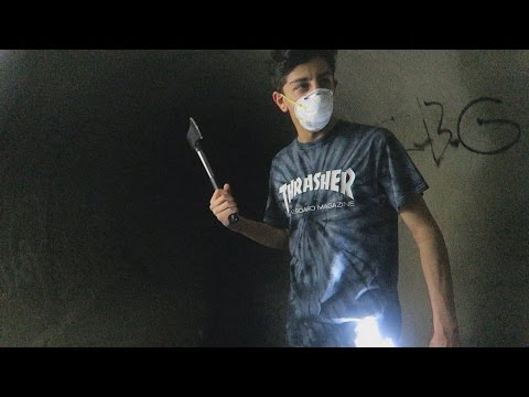 EXPLORING THE HAUNTED TUNNEL: PART 2 WTF  FaZe Rug