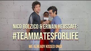 #TeammatesForLife Challenge with Nico and Erwan — What Kiss???   Solenn.ph
