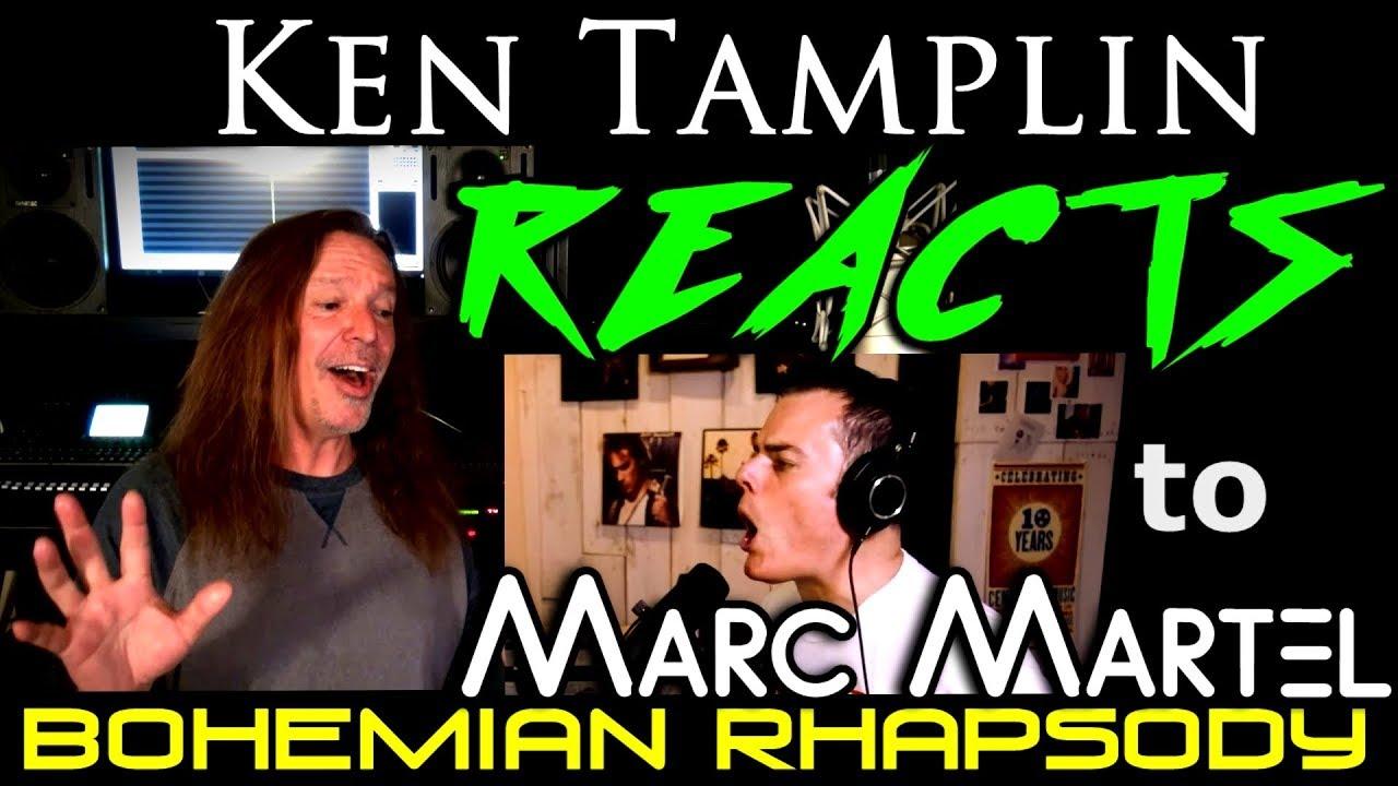 Vocal Coach Reaction to Marc Martel - Freddie Mercury - Queen - Bohemian Rhapsody - Ken Tamplin