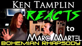 Vocal Coach Reaction to Marc Martel - Freddie Mercury - Queen - Bohemian Rhapsody - Ken Tamplin