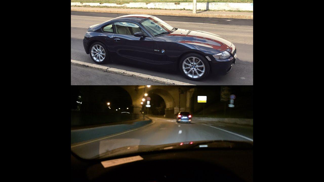Bmw Z4 3 0si: BMW Z4 2007 Coupe 3.0SI Auto E86 POV Drive Yauza Moscow