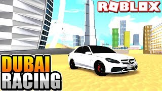 Vehicle Simulator!.. In Dubai? (Roblox Dubai Racing Game)