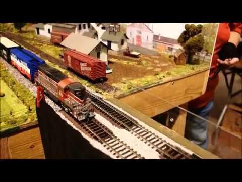 TIMONIUM, MD SHOW - HO MODEL RAILROAD LAYOUTS (Modular Modeling Scenes)