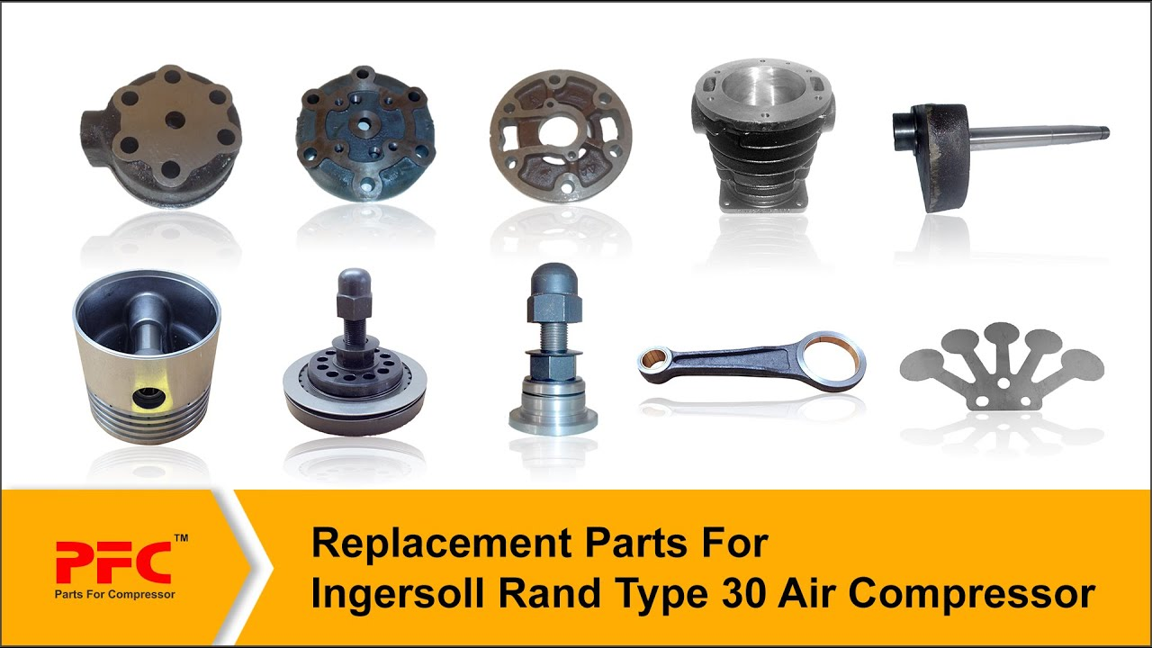 replacement parts for ingersoll rand type 30 air compressor pfc parts for compressor  [ 1280 x 720 Pixel ]